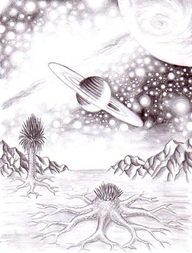 Un peisaj de pe o alta planeta
