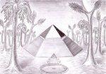 Piramida pentagonala din zona Cydonia