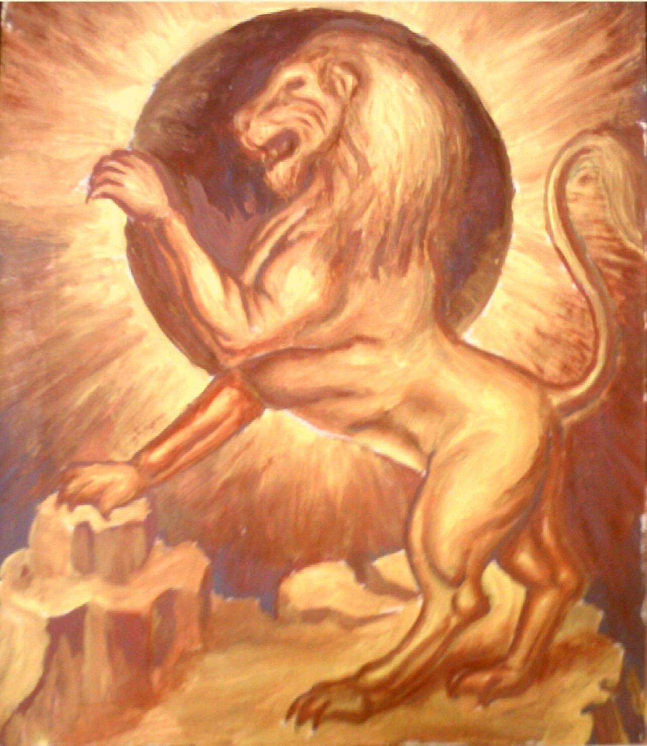 подвиги льва картинки рождения мелани
