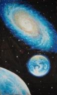 Pamantul si o galaxie