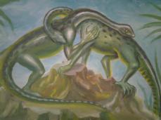 Dinozauri indragostiti, pictura