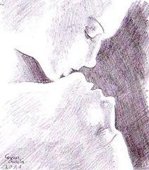Un sarut pe pielea ei fina