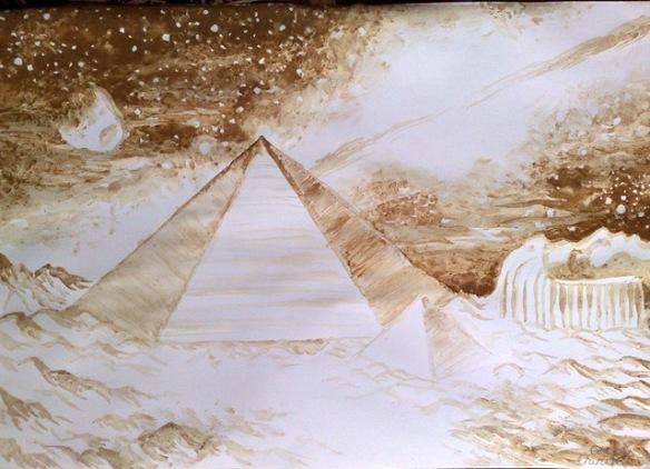PiramidelesifatadinzonaCydoniadepeMartepicturafacutacucafeaCoffeepaintingofthepyramidsandfaceonm.jpg