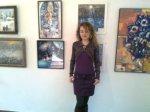 Corina Chirila la Salonul anual de iarna din Herastrau