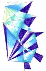 Desen abstract gen Kandinsky
