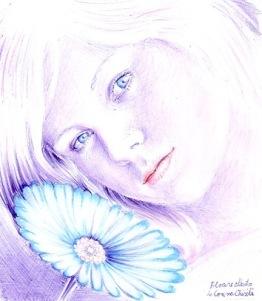 Floarea albastra