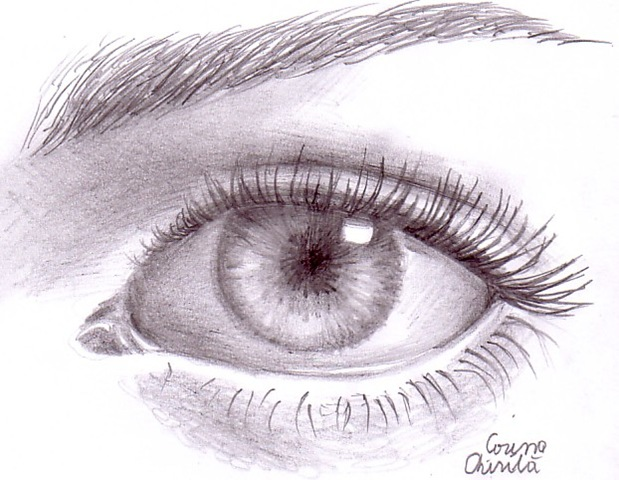 Ochi Desenat In Creion   Eye Pencil Drawing