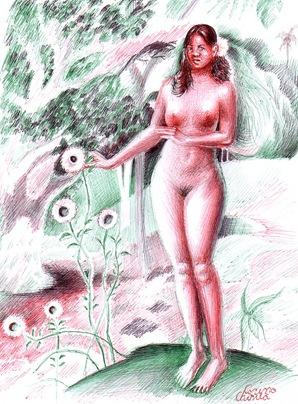 Reproducere dupa Paul Gauguin - The delightful land