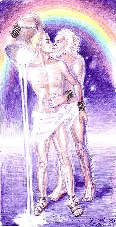 Varsatorul - Zeus si Ganymede - Zodiac - Mitologie greaca