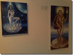 Nuduri in ulei pe panza expuse la Elite prof Art Gallery expozitia de nuduri