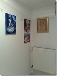 Tablouri expuse la galeria Elite prof Art expozitia de nuduri