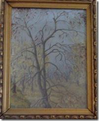 Copac pictat de doctorita Aurelia Chirila