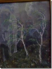 Mesteceni pictati de doctorita Aurelia Chirila