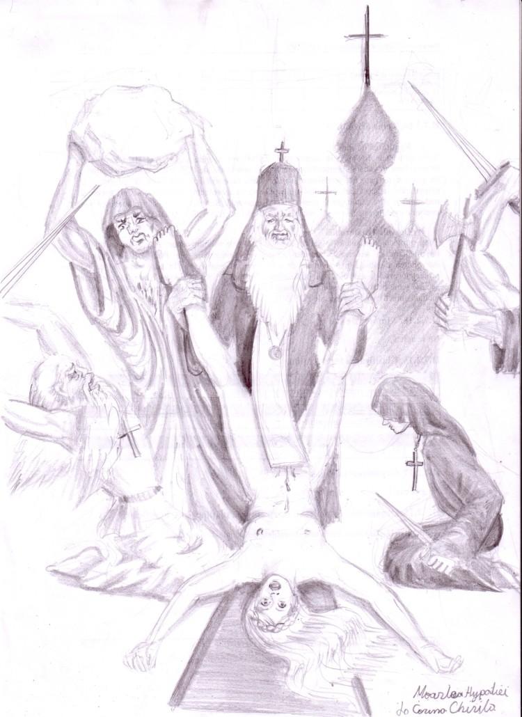 Moarte Hypatiei - Sfantul Kiril primii crestini si Hypatia din Alexandria