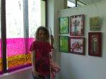 Roz si verde crud de primavara in herastrau la salonul de primavara al AAPB