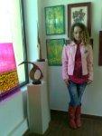 Salonul de primavara din Herastrău organizat de AAPB artista Corina Chirila