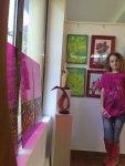 Tablouri de primavara cu mult verde facute de Corina Chirila expuse in Herastrau alaturi de lucrarile lui Mihai Boroiu la salonul de primavara 2012