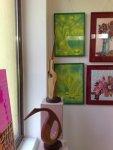 Verde crud - Sculpturi de Mihai Boroiu si picturi de Corina Chirila expuse la salonul de primavara organizat de Asociatia Artistilor Plastici din Bucuresti