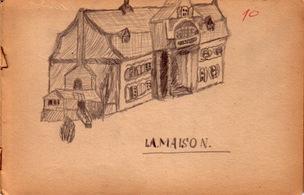 La maison desen in creion