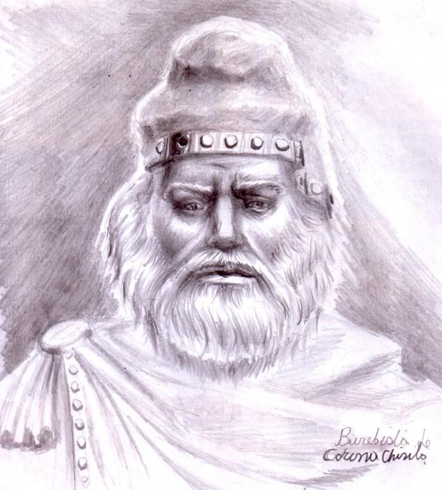 Portretul lui Burebista