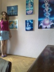 Cu picturile la Home cafe