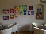 Expozitie de pictura la cafeneaua Arts Concept Cafe sau Home Cafe