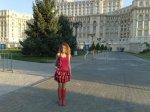 Artista Corina Chirila la Palatul Parlamentului
