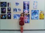 Corina Chirila expozitie la Palatul Parlamentului