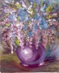 O banala natura moarta, pictura tempera
