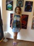 Picturi de Corina Chirila in Herastrau galeria AAP la salonul de arta moderna