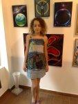 Picturi de Corina Chirila la salonul de arta moderna organizat de Asociatia Artistilor Plastici din Bucuresti la galeria AAP din herastrau
