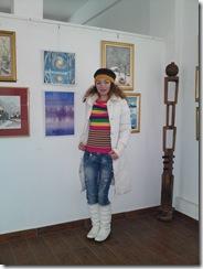 Corina Chirila la salonul de iarna 2012