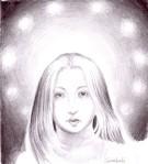 Venre si madona, portretul muzei lui Eminescu desenat in creion