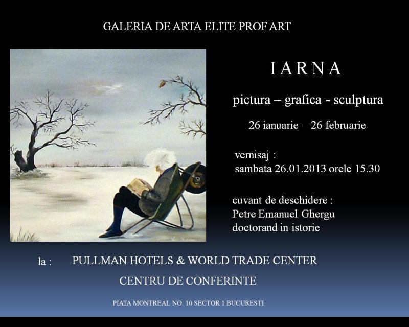 INVITATIE-2 expozitie de tablouri de Iarna
