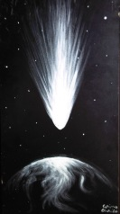 Cometa_aducatoare_de_viata_-_Teoria_panspermiei_-_The_life_bringing_comet_painting