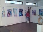 Corina Chirila la expozitia de arta organizata de Asociatia Artistilor Plastici din Bucuresti Univers Eminescian din Herastrau galeria AAP_filtered
