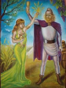 Demetra si Bacchus