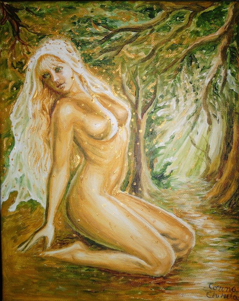 Dorinta, pictura acrilice pe panza