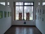 Picturi si desene de Corina Chirila si sculpturi de Mihai Boroiu la pavilionul expozitional B din Herastrau