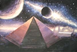 Piramida si sfinxul din zona Cydonia de pe Marte