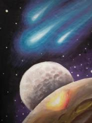 Planete si comete pictura