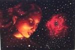 Rosette, pictura tempera vanduta in 2008