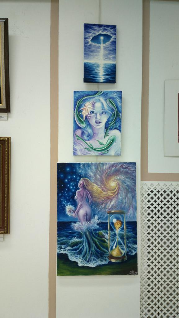 Tablourile mele expuse la salonul de marina 2013
