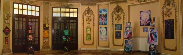 Expozitia mea de pictura, vedere panoramica