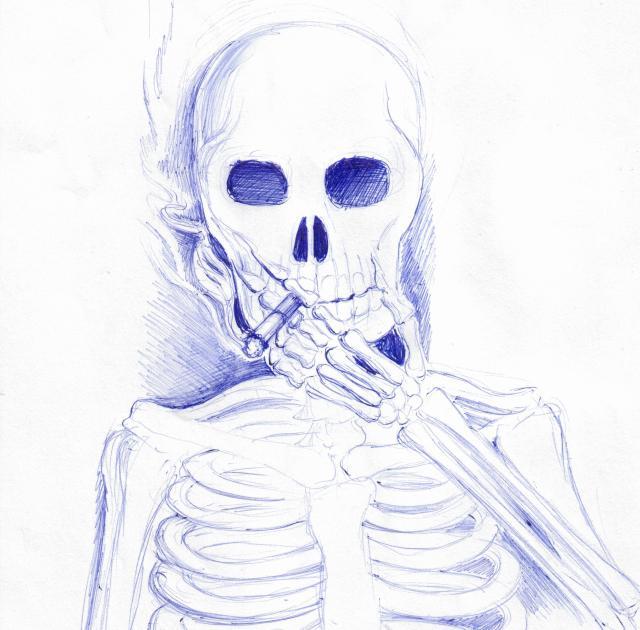 portret de fumator 001