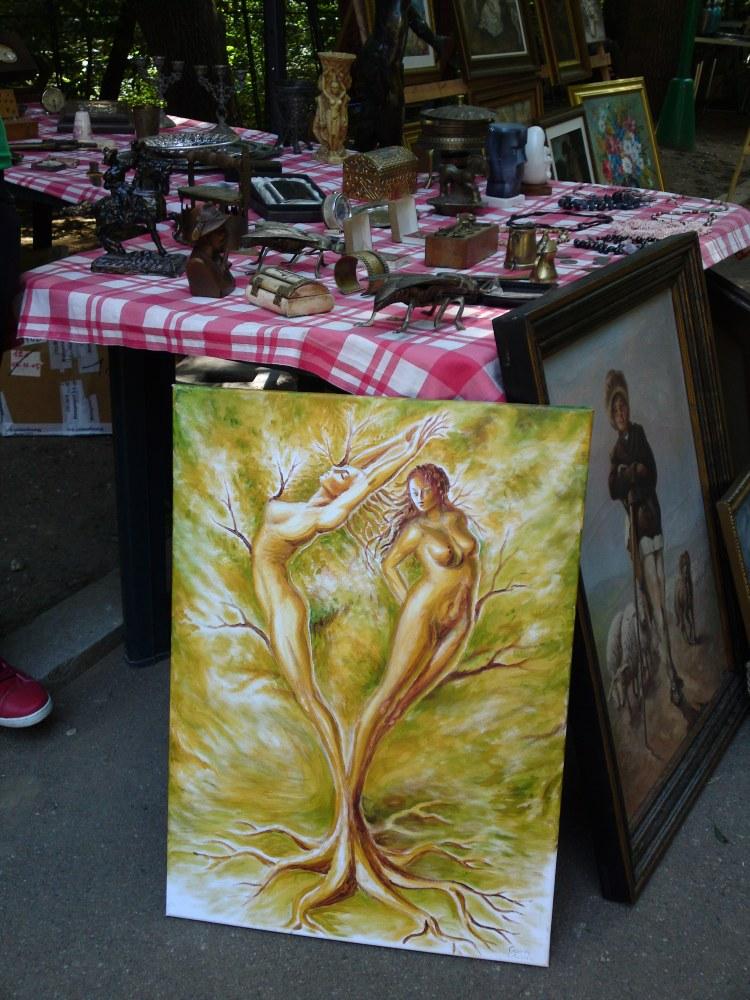 Copacul iubirii la targ la Muzeul Taranului Roman