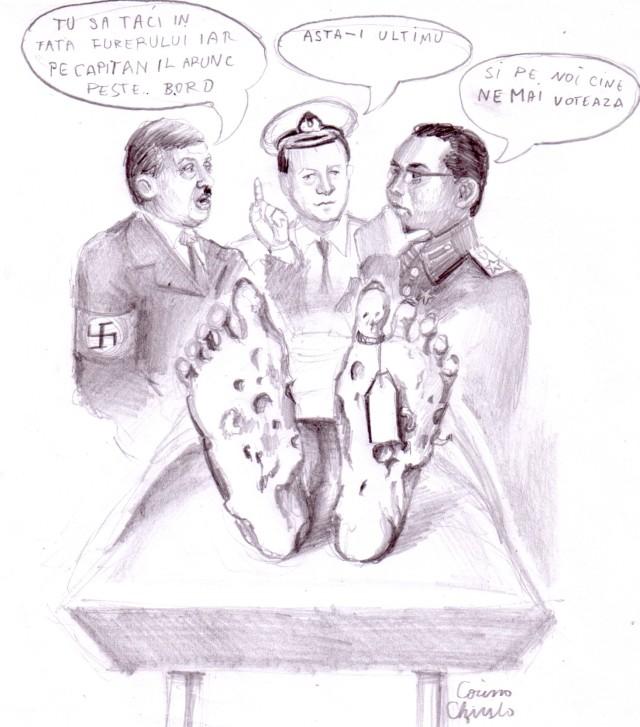 Hitler, Stalin, capitanul si ultimul supravietuitor al genocidului din Romania