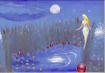 Craiasa din povesti, pictura facuta in anul 2000, una dintre primele mele picturi