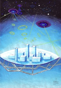 Oras zburator, pictura din anul 2001