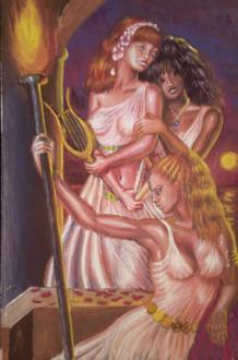 Korinna, Erinna si Sappho, 3 mari poete din Grecia antica
